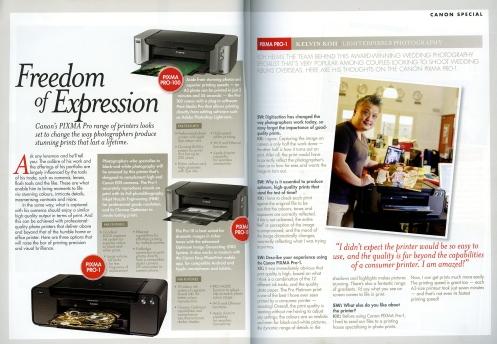 Review of Canon's Pixma Pro 1 Printer